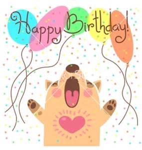 Cute Funny Dog Happy Birthday Cards