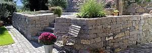 Gartenmauern Aus Stein : trockenmauerbau und gartengestaltung stein land ~ Michelbontemps.com Haus und Dekorationen