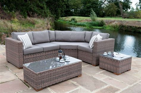 furniture pc gray wicker rattan sofa furniture set patio