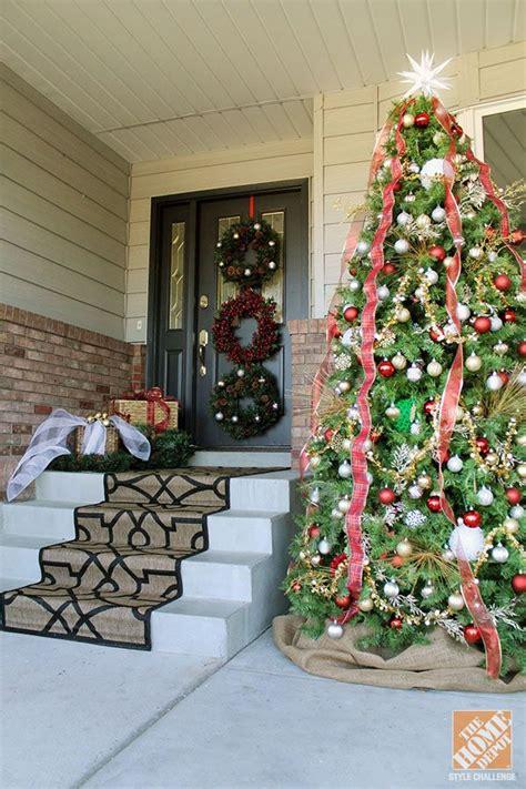 christmas decorating ideas   front door