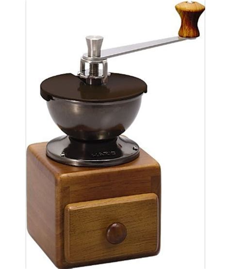 A testament to the drinker's commitment to experience great coffee every day. HARIO hand grinder coffee mill small coffee grinder MM-2 ...