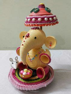 ganesh quilling quilling dolls quilling paper quilling