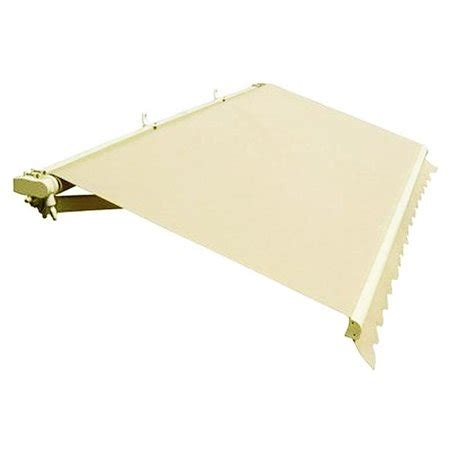 ft retractable outdoor motorized patio awning ivory walmartcom