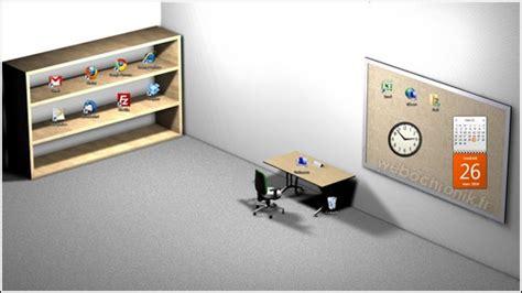 organiser bureau windows fond d 39 écran 3d pour organiser les icones sur le bureau de