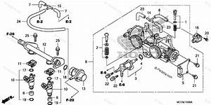 Honda Scooter 2006 Oem Parts Diagram For Throttle Body