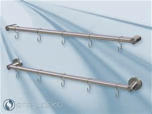 reling küche pfosten 16 stainless steel kitchen railing system railing hooks design kitchen articles