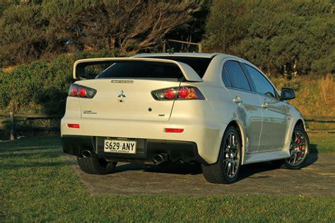 Mitsubishi Lancer Evolution X Review