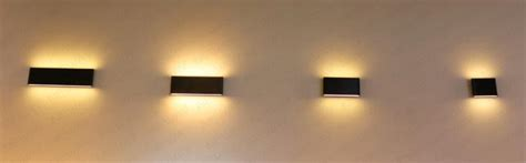 thin office wall mounted linear suspension led wall