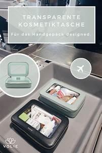 Kosmetiktasche Für Unterwegs : die transparente kosmetiktasche von volie ist der perfekte reisebegleiter f r deinen n chsten ~ A.2002-acura-tl-radio.info Haus und Dekorationen