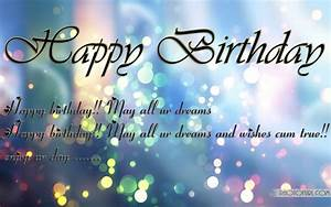 Happy Birthday Wishes Wallpapers | Free Wallpapers
