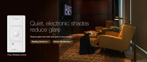 quiet electronic shades reduce glare