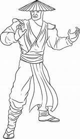 Mortal Kombat Coloring Pages Printable sketch template