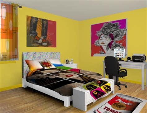 pop art bedrooms interior designing ideas