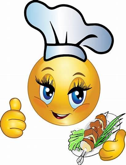 Smiley Cooking Emoticon Clipart سمايلي Emoticons Chef