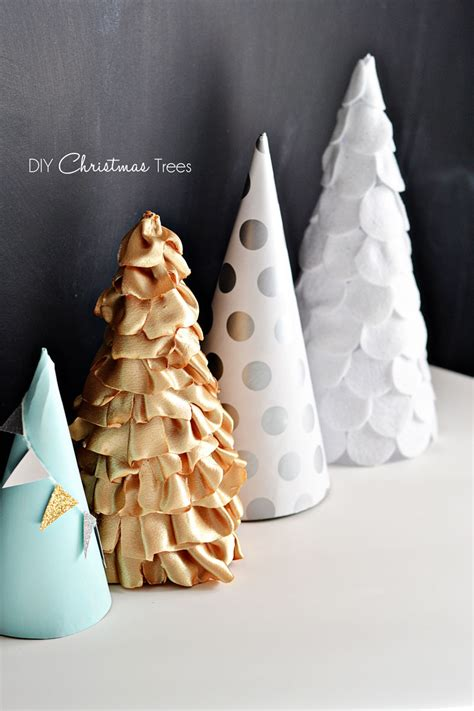 christmas craft paper fabric felt trees 187 little