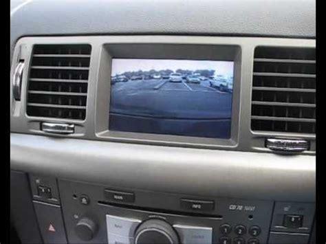 vauxhall cd navi reversing camera system youtube