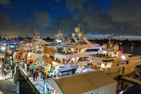 fort lauderdale boat show  oct  nov  flibs