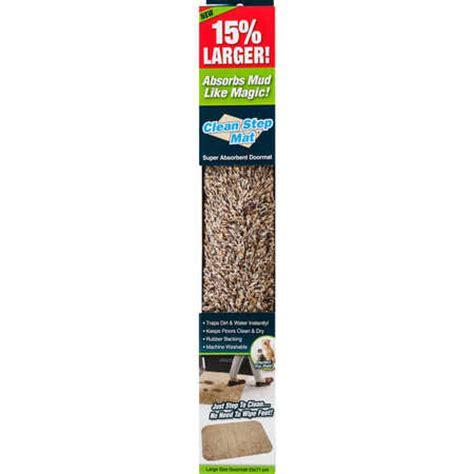 Clean Step Doormat by Homezy Clean Step Mat Big W