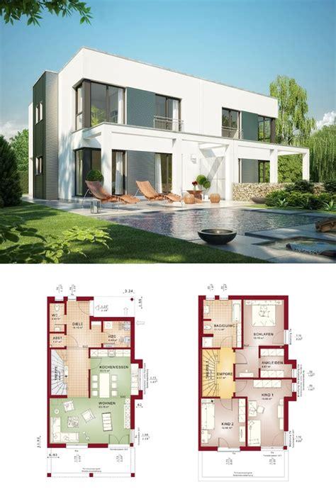 Bauhaus Häuser Grundrisse by Design Doppelhaus Im Bauhaus Stil Mit Grundriss Haus