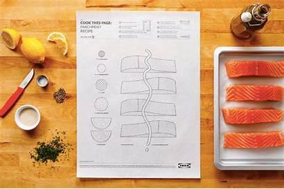 Ikea Cook Paper Sheet Recipe Illustrated Recipes