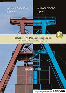 Cadison U00ae Project Engineer Is Your Tool For Plant Design