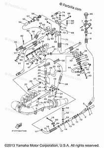 Yamaha Waverunner 2007 Oem Parts Diagram For Exhaust  2