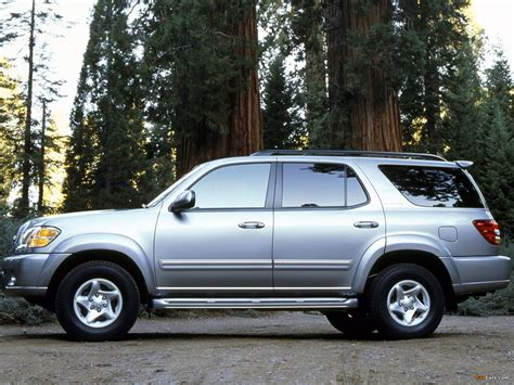 Toyota Sequoia Limited 2000–05 Images (1600x1200