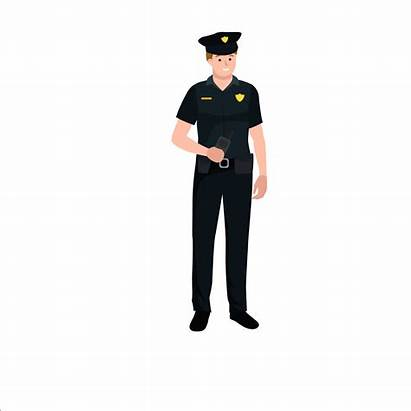 Police Transparent Clipart Cartoon Officer Clip Library
