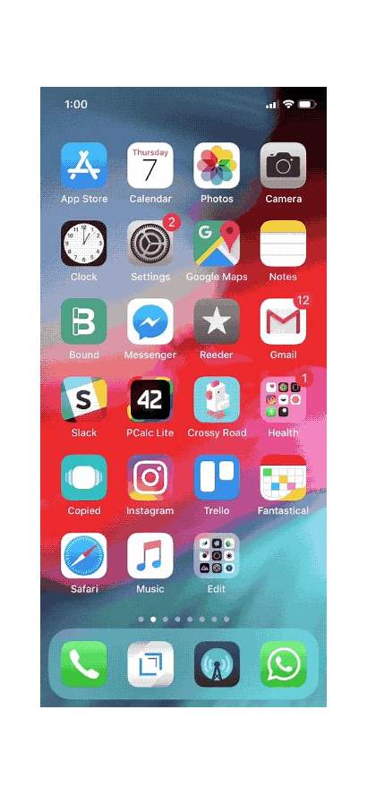 App Ios Iphone Gifs Features Gesture Screen