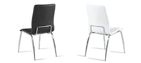 lot 6 chaises noires lot de 6 chaises matelassées noires design