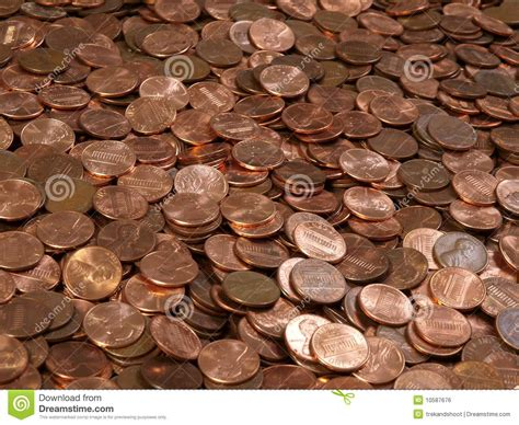 Pile Of Pennies Royalty Free Stock Image - Image: 10587676