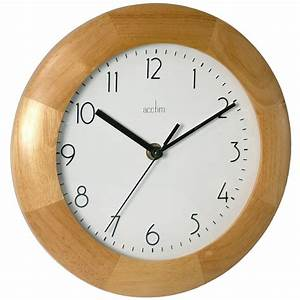 Epsilon wooden wall clock 23cm for Wooden wall clock images