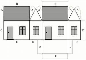 Cardboard House Pattern