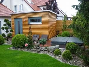 aussensauna von ruku bild 10 schoner wohnen With französischer balkon mit sauna für den garten