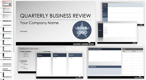 qbr  business review templates smartsheet