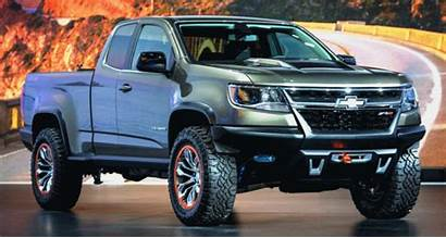 Colorado Zr2 Chevy Chevrolet 2022 Concept Pickup
