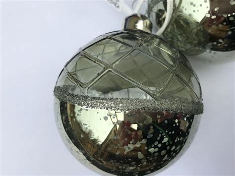 6 X Moss Green Glass Christmas Tree Baubles Hanging Decorations Vintage Style Antique Brass Coat Stand Bathroom Furniture Oak Hall Tree Storage Bench Estate Sales White Kitchen Island Wedding Band Sets Stores Peoria Il Asheford Institute Of Antiques