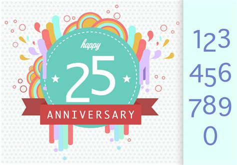 Anniversary Template Download Free Vectors Clipart