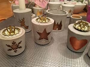 Basteln Für Weihnachtsbasar : beton kerzenst nder k nstlerei karlshof endspurt f r den weihnachtsbasar am ~ Orissabook.com Haus und Dekorationen