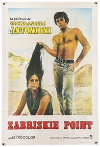 1970 39Zabriskie Point39 Antonioni Film Poster Chairish