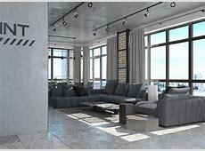 Industrial Loft Apartment Design Ideas With Elegant Dark