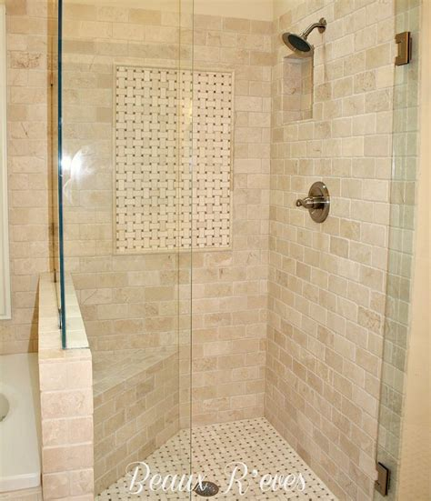 Neutral Bathroom Tiles by Neutral Tile Shower Ideas