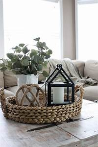 faux greenery table decor living room decorating coffee