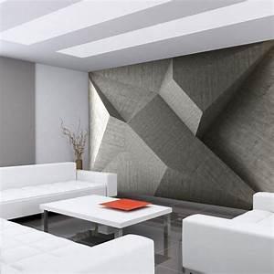 Tapeten Beton Design : einrichtung ganz in weiss ~ Sanjose-hotels-ca.com Haus und Dekorationen