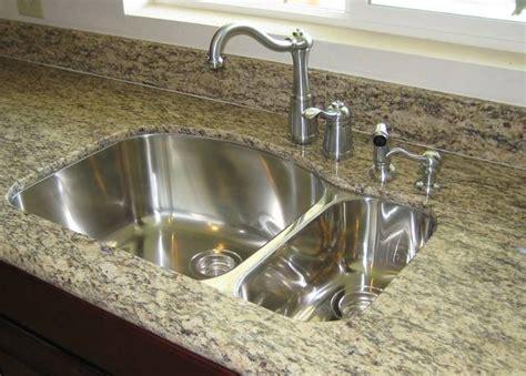 undermount sink kitchen countertop view undermount sink