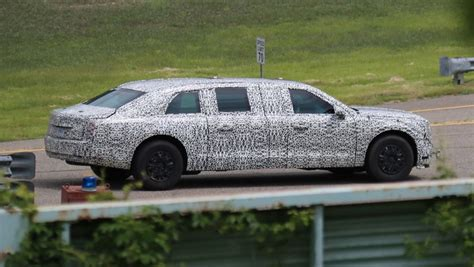 New Limousine Car by S New Presidential Limo Spied Car News Carsguide