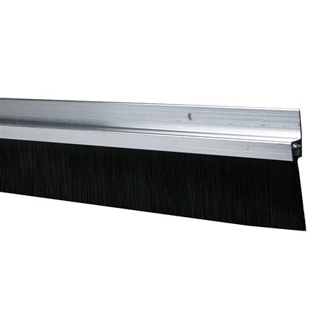 bas de porte 224 visser brosse axton l 250 cm aluminium leroy merlin