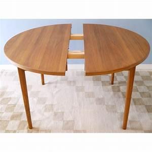 Table à Manger Scandinave Extensible : table ronde scandinave a rallonge ~ Teatrodelosmanantiales.com Idées de Décoration