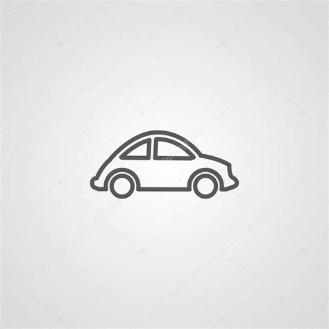 ✓ usage commercial gratis ✓ images haute qualité. Mini autíčko tenké symbol osnovy, tmavé na bílém pozadí — Stock Vektor © rashad_ashurov #66112805
