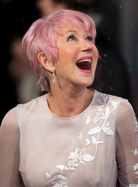 Helen Mirren Explains Her Love For Pink Hair Stripper